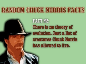 Chuck on Evolution